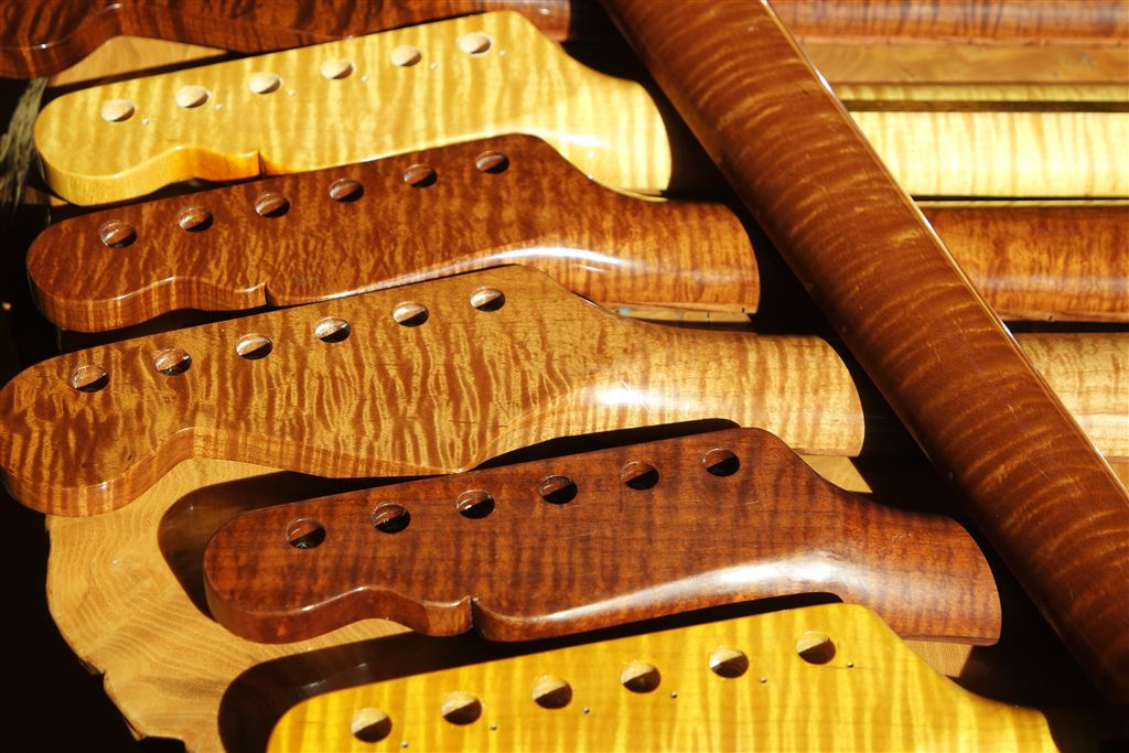 Strat And Tele Roasted Maple Necks